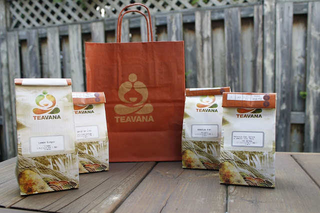 Currently Loving : Teavana Teas
