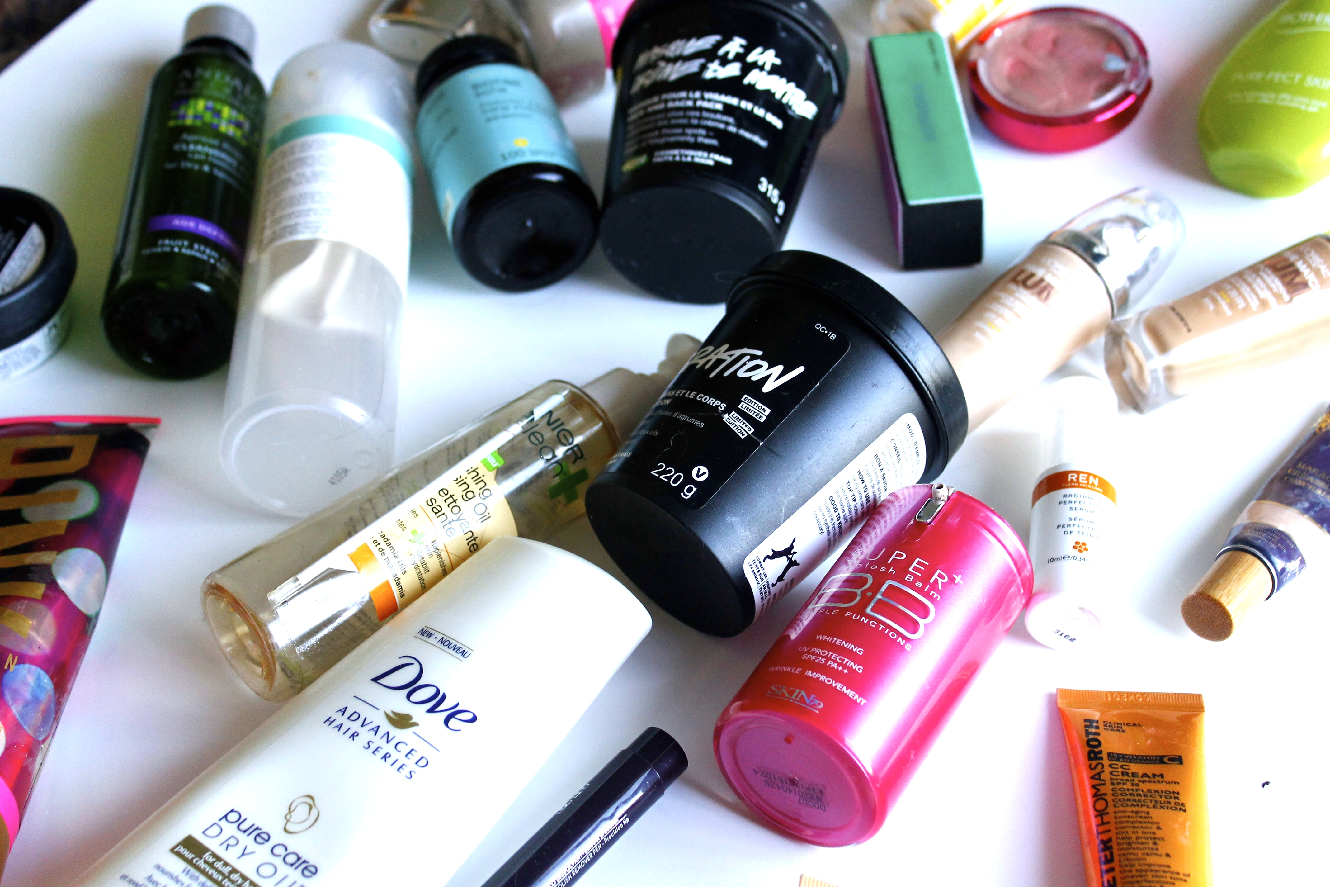 September and October Empties 2015