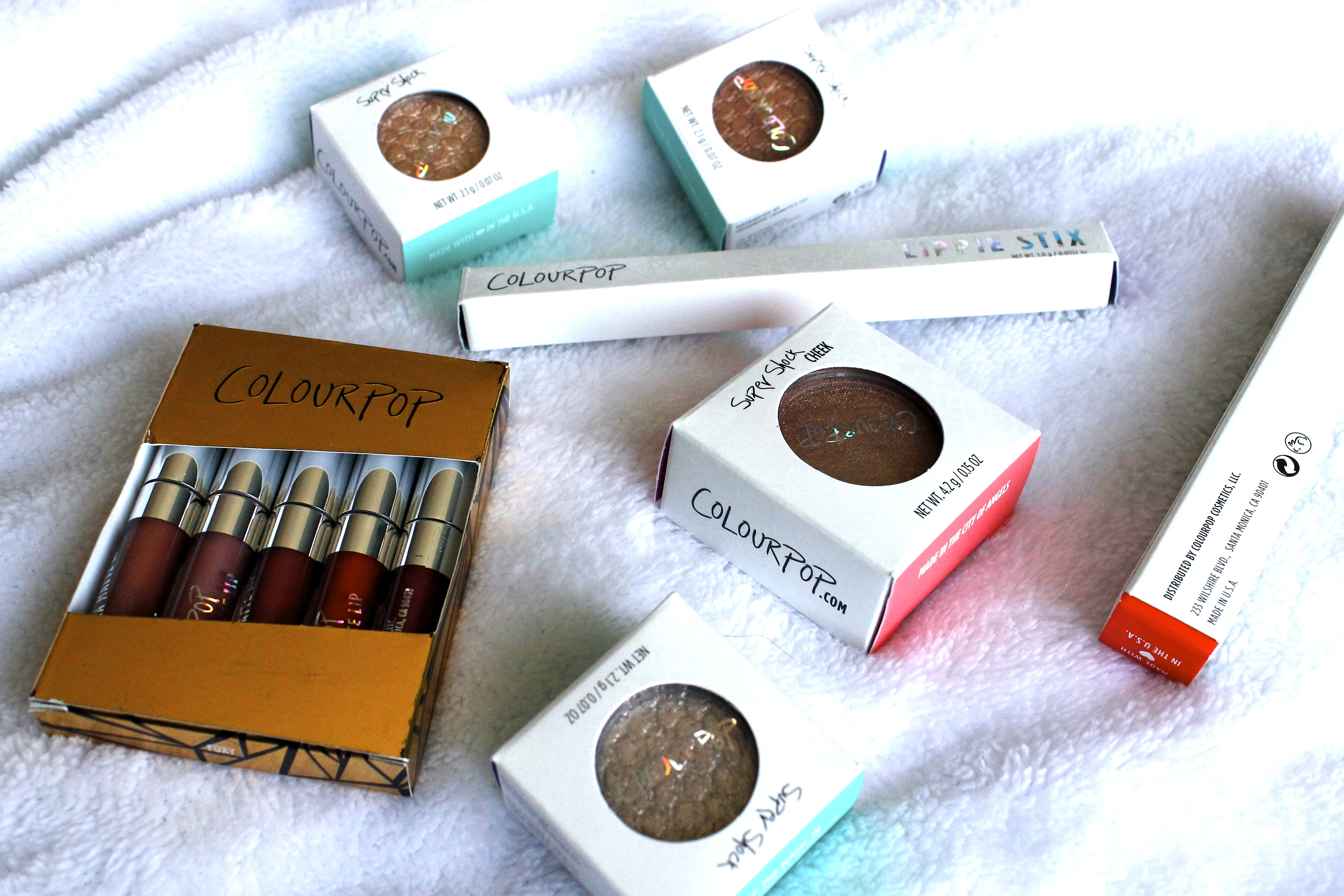ColourPop Haul and Review