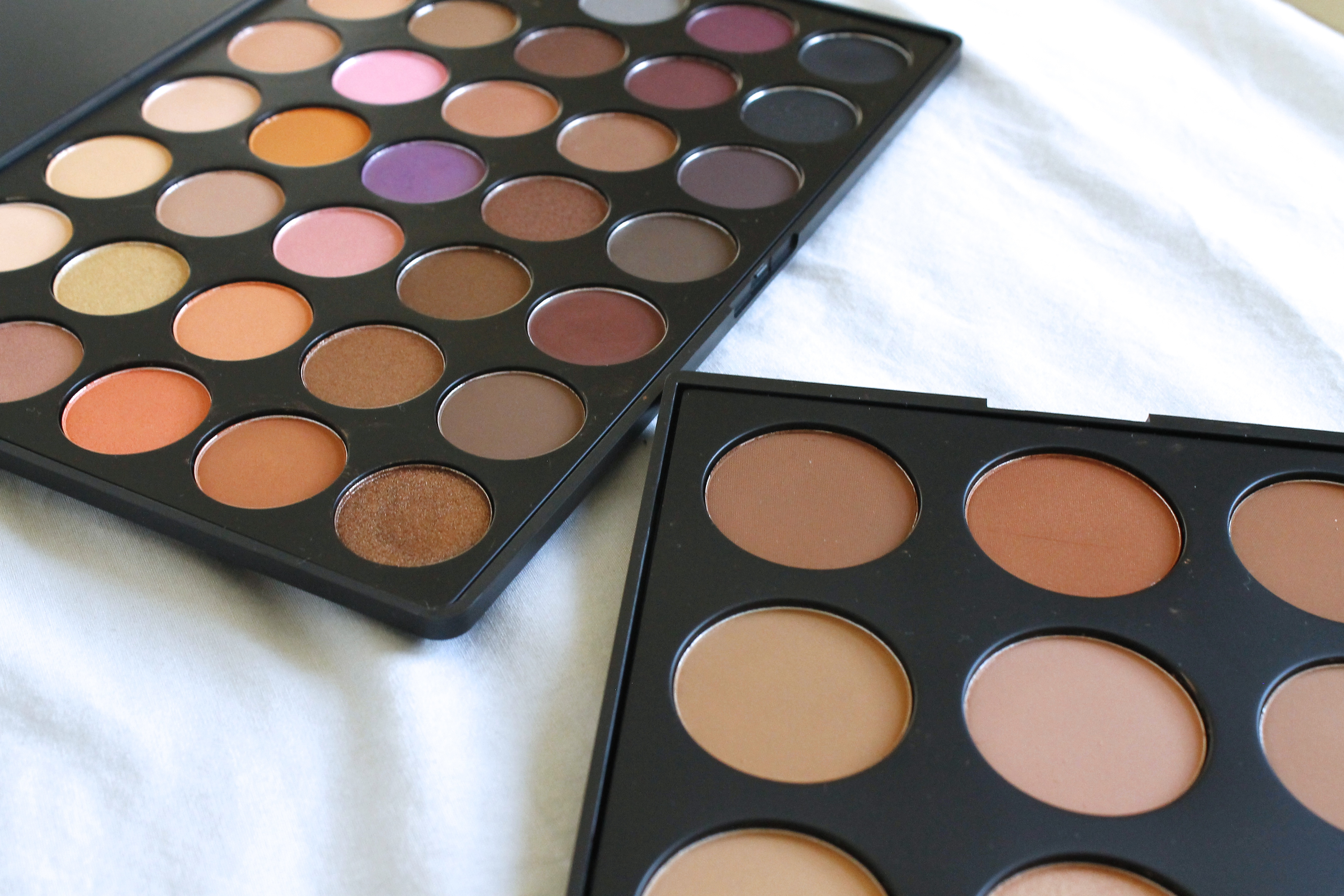 Morphe Brushes and Palettes Review