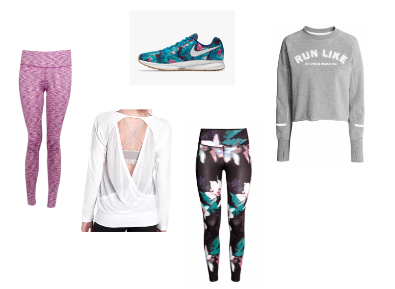 Active Wear Wish List