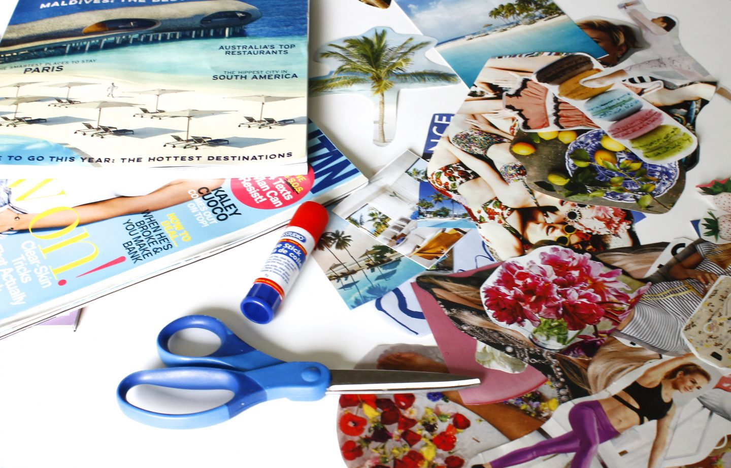 Making A Vision Board: Inspiration and Creativity